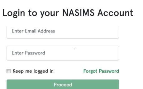 NASIMS Portal