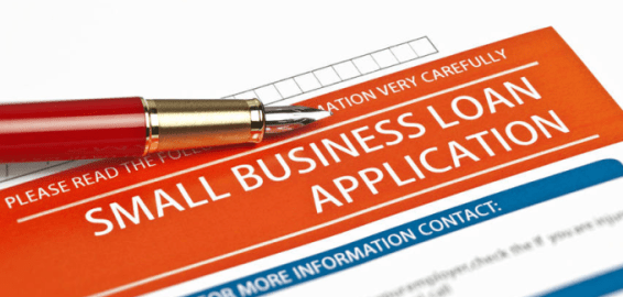 Government SBA Loan Application for Small Business