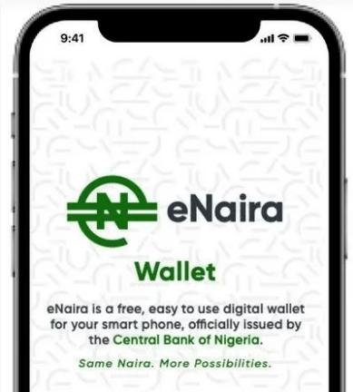 eNaira Digital Cryptocurrency Registration Sign-Up