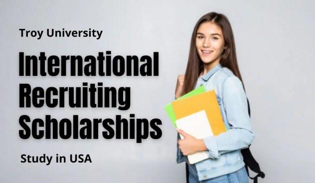 Troy University International Scholarship