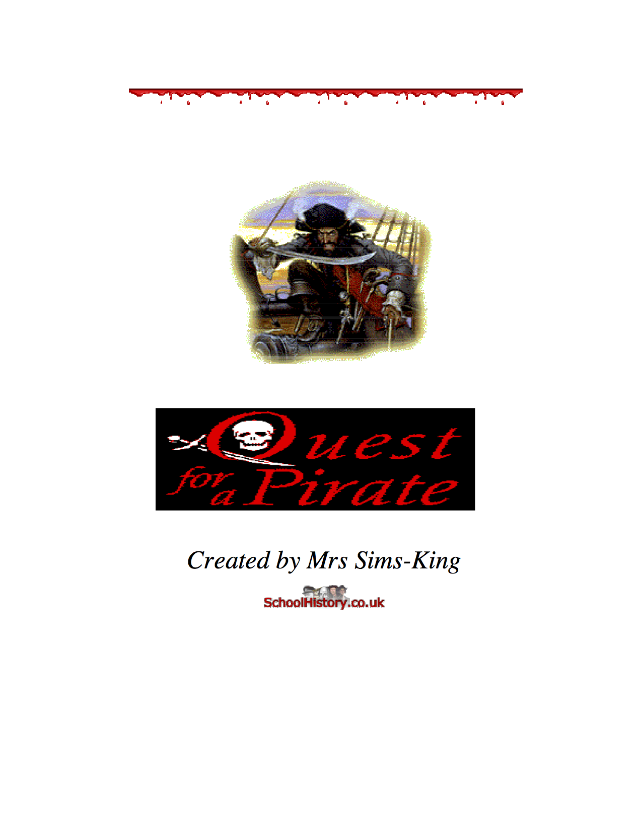 Famous Pirates Facts Amp Information Worksheet