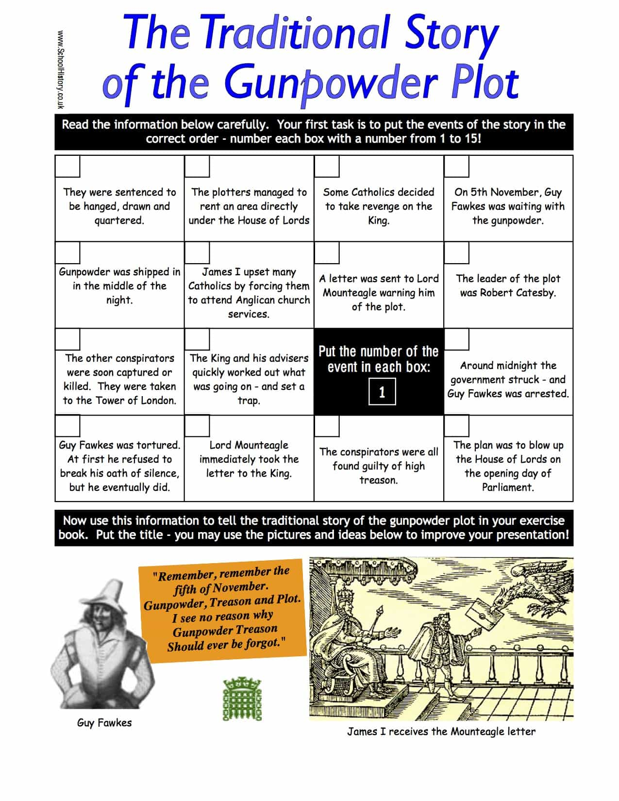 Story Of The World Worksheet