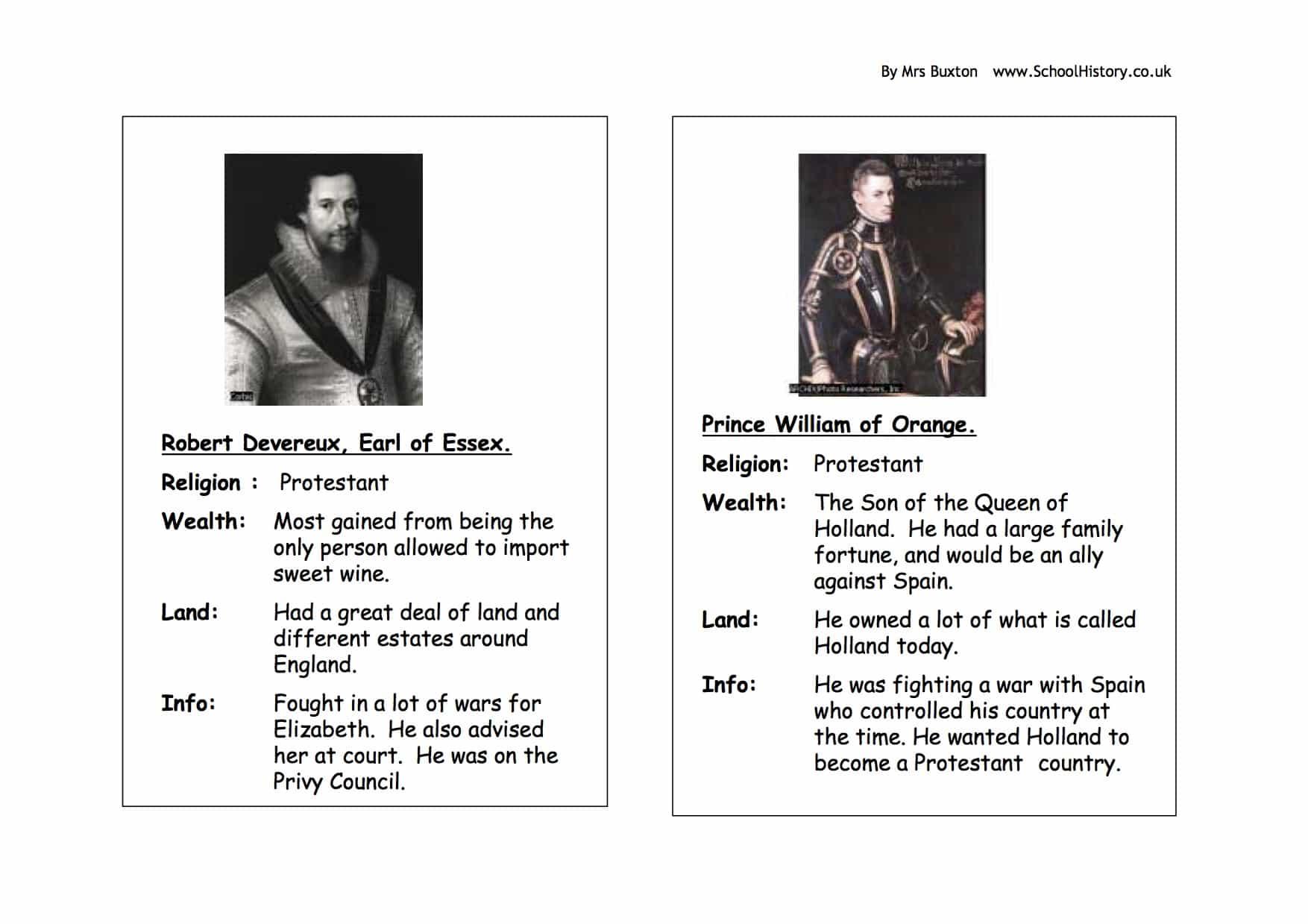 Elizabeth I Potential Suitors