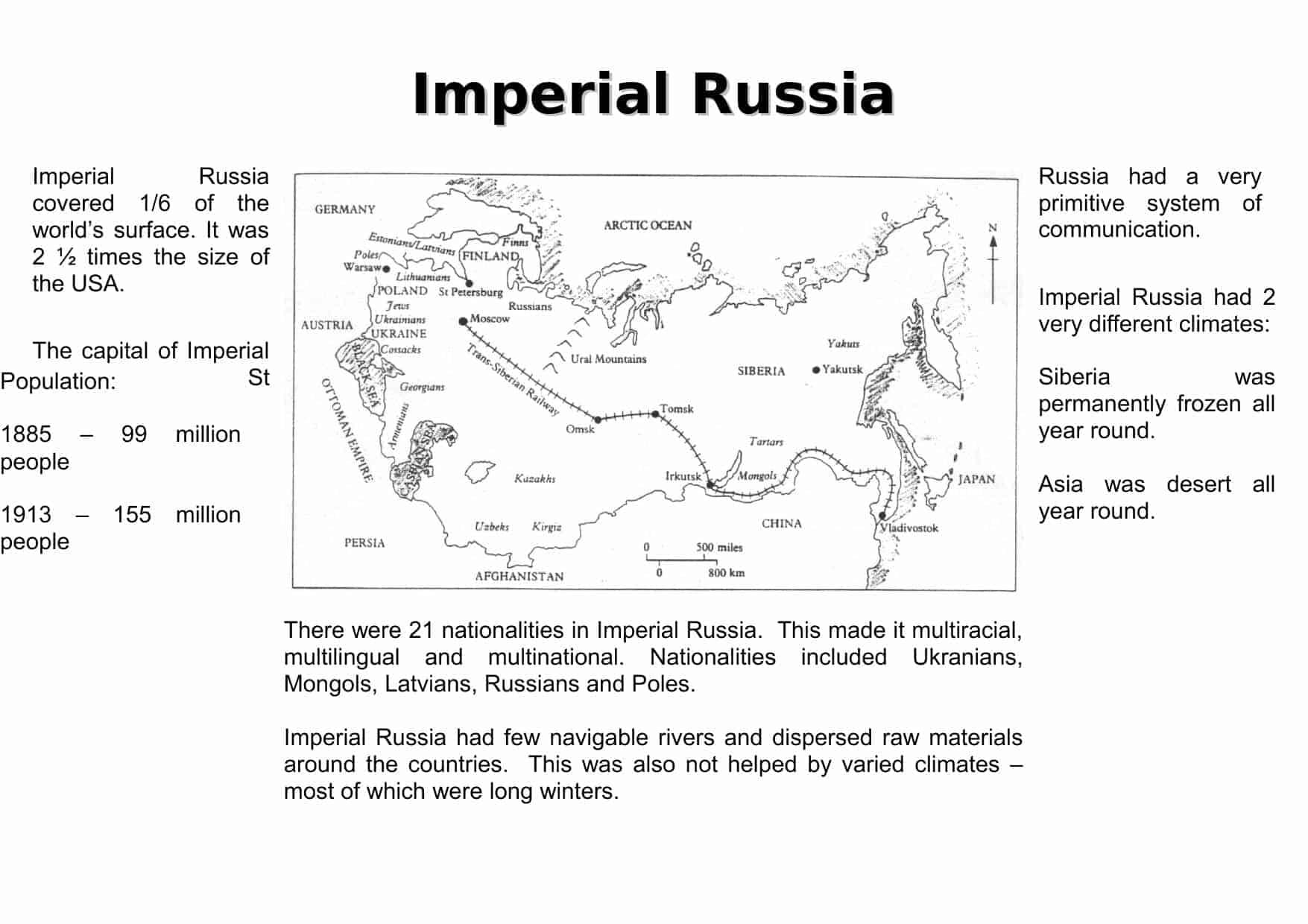 Worksheet Russian