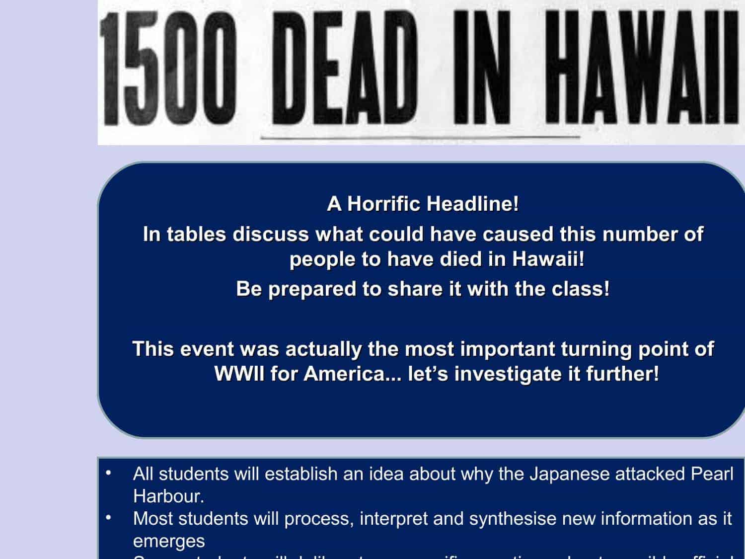 Pearl Harbour Facts Amp Information
