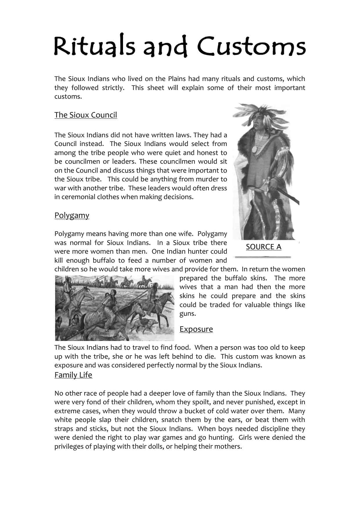 Customs And Cultures Worksheet