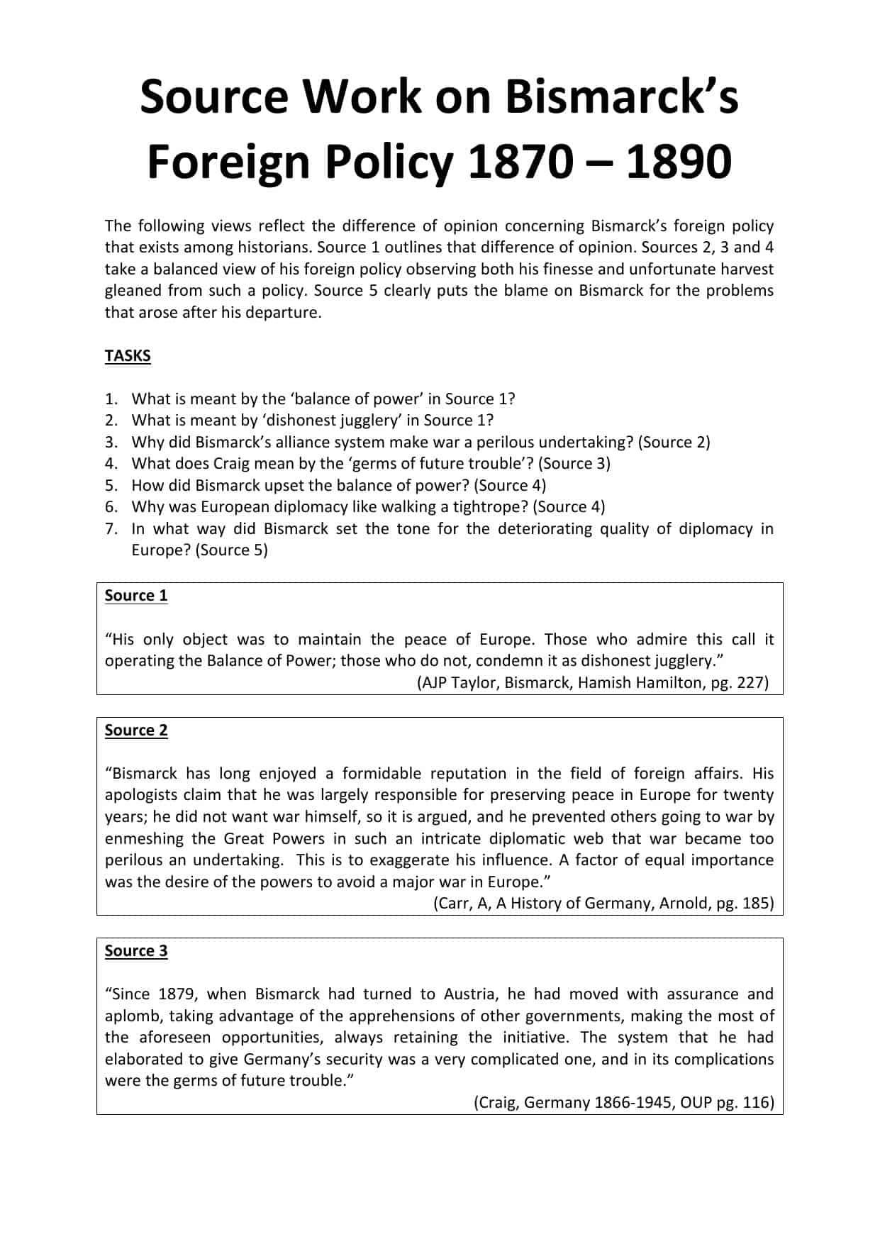 Debate Worksheet