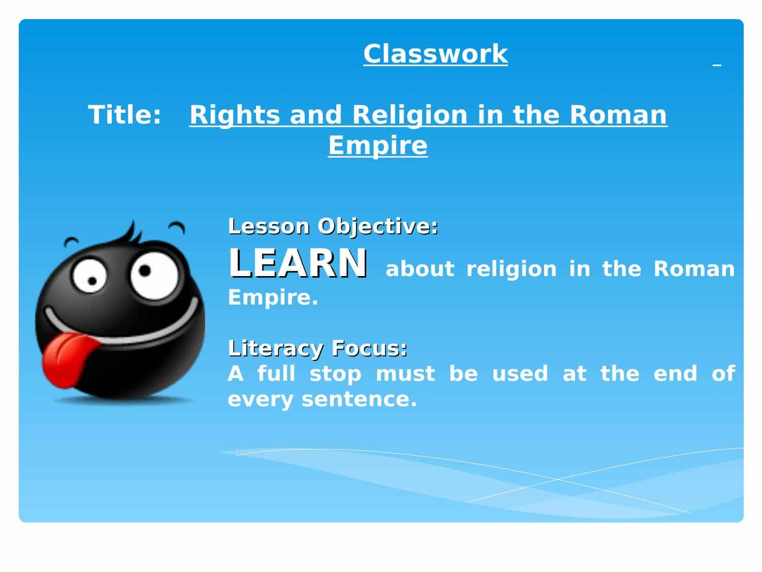 Rights And Religion In The Roman Empire Powerpoint