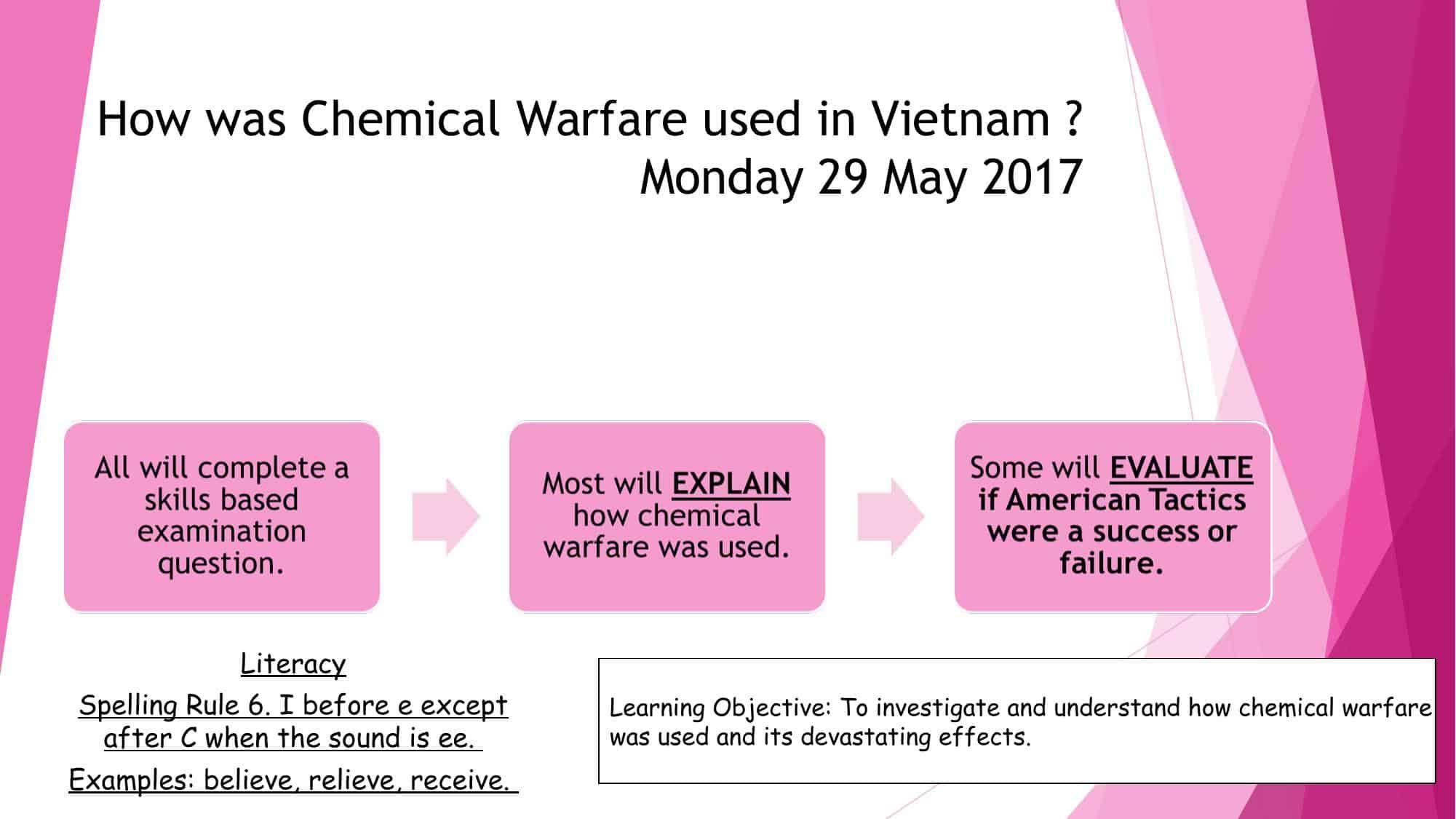 Chemical Warfare In Vietnam Powerpoint