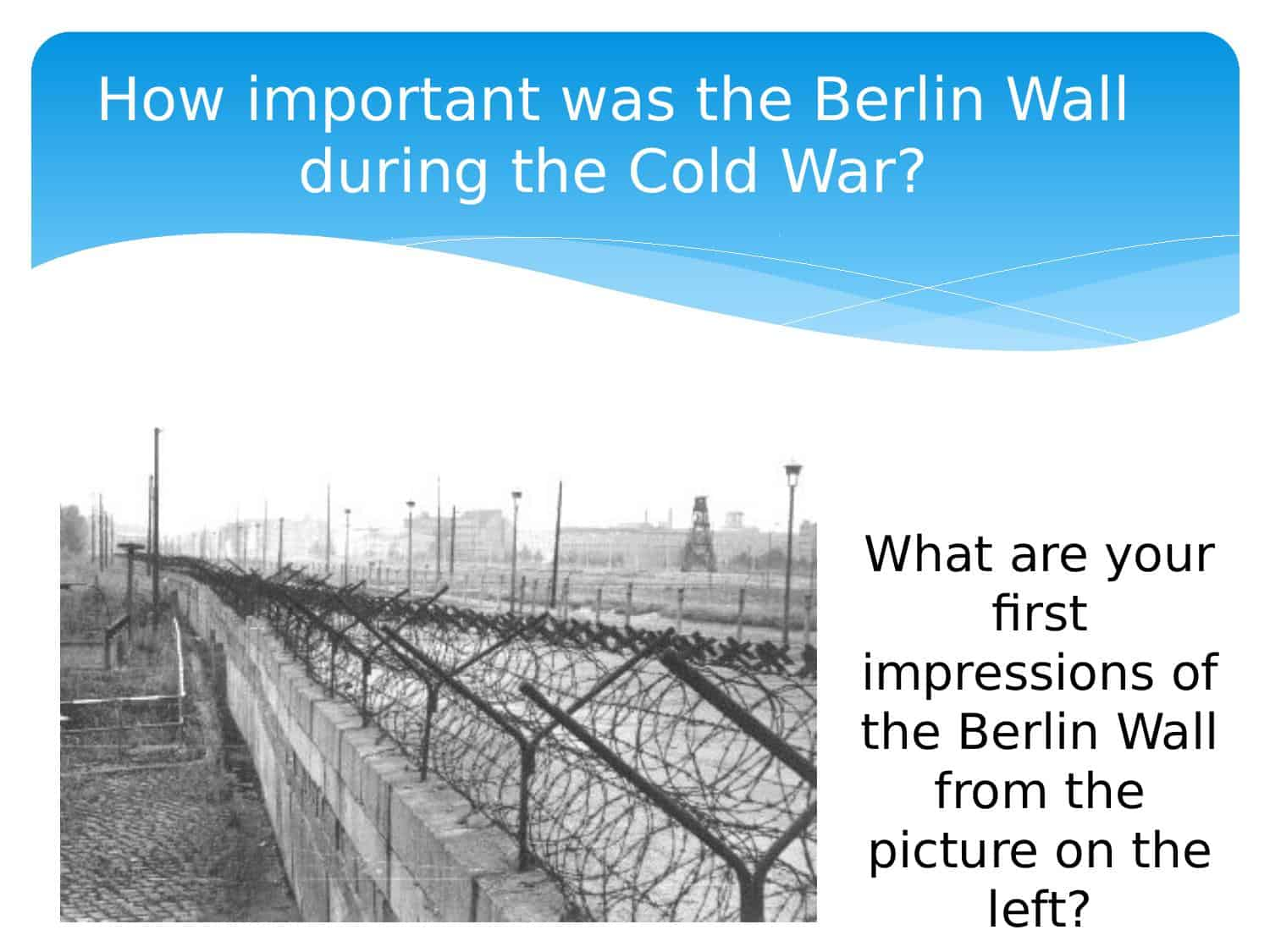 How Important Was The Berlin Wall During The Cold War