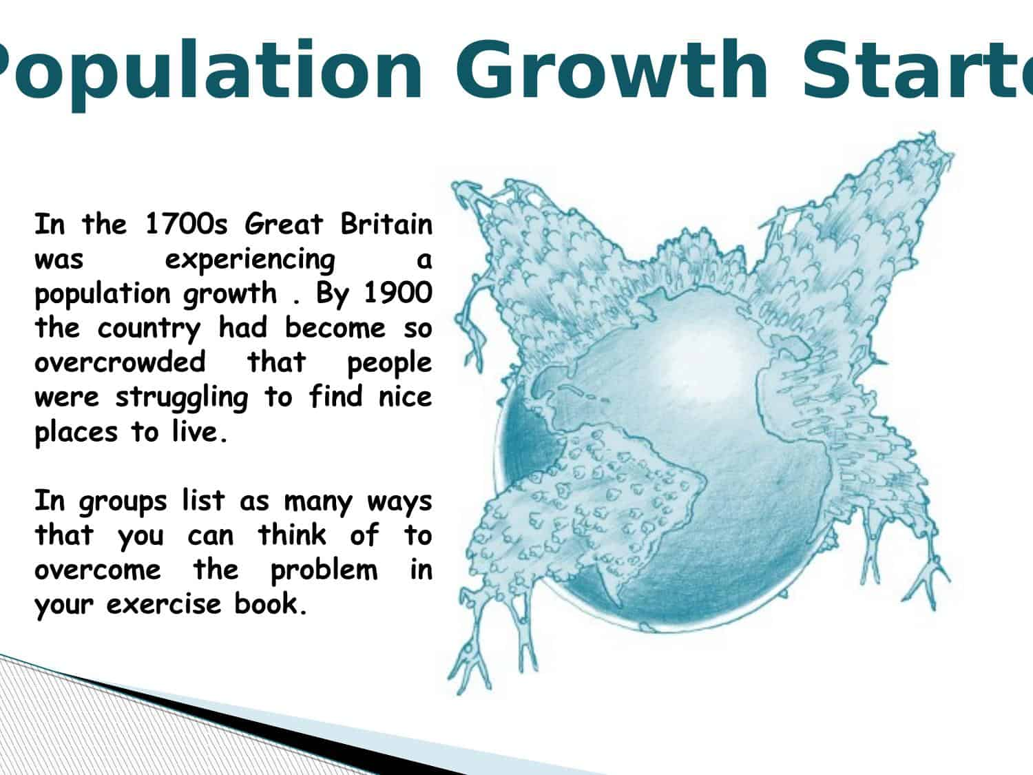 Population Growth A Level Starter Lesson Powerpoint