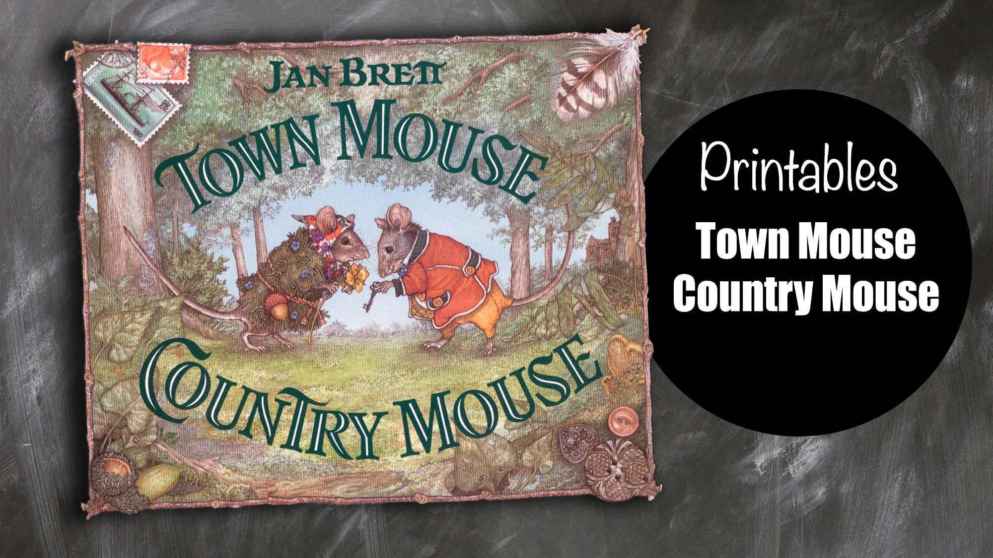 Town Mouse Country Mouse Brett Schoolhouse Boys