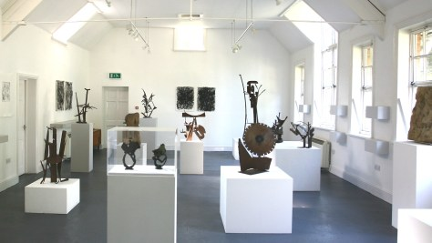 Michael Lyons: The Mithras Suite - exhibition shot at the New School House Gallery, August 2013.