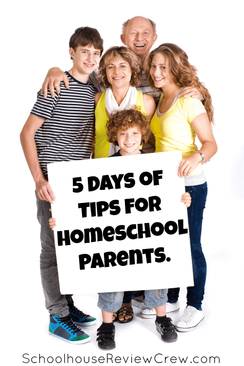 5 Days of Tips for Homeschooling Parents