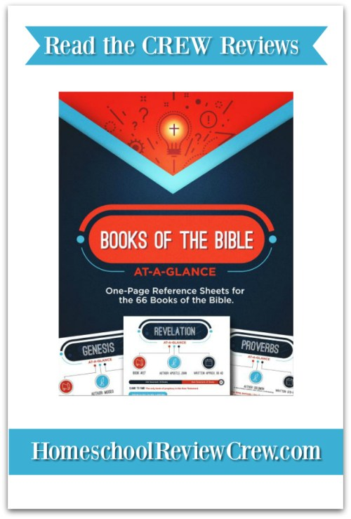 Books of the Bible At-a-Glance { Teach Sunday School Reviews}