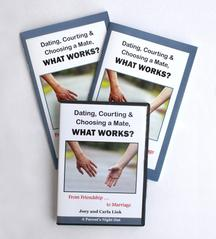 Dating, Courting & Choosing a Mate...What Works? DVD & Workbooks