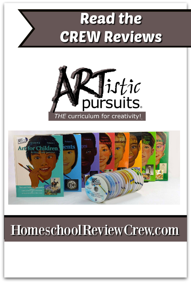 Kindergarten to Third Grade Art following History in Chronological Order {ARTistic Pursuits Inc. Reviews}