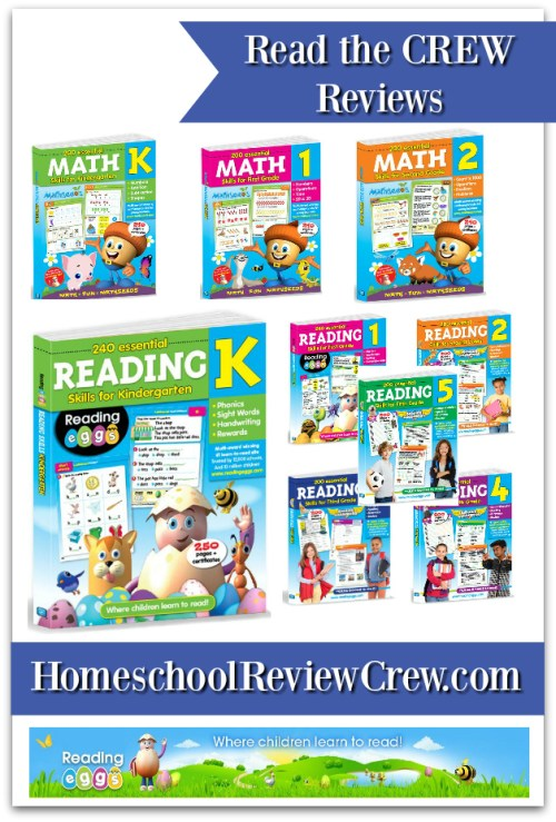 240 Essential Reading Skills & 200 Essential Math Skills  {Reading Eggs Reviews}