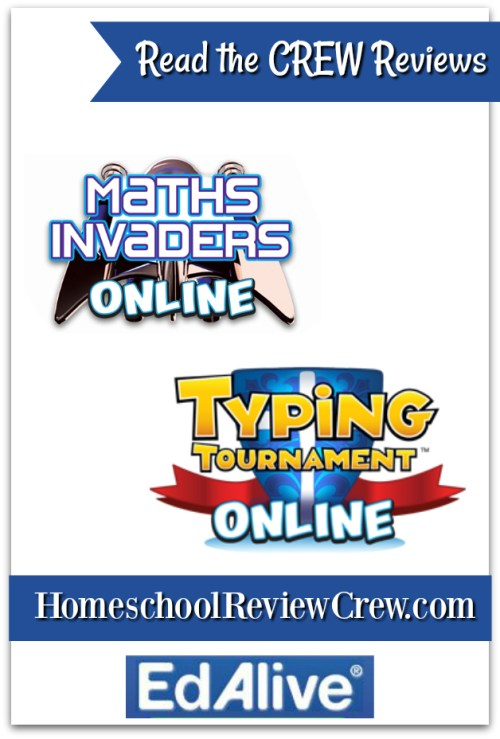Typing Tournament & Maths Invaders Online {EdAlive Reviews}