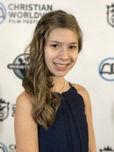 Brooklyn Hampton at the Christian Worldview Film Festival