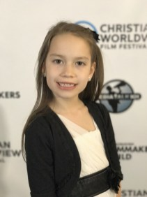 Lacey Hampton at the Christian Worldview Film Festival