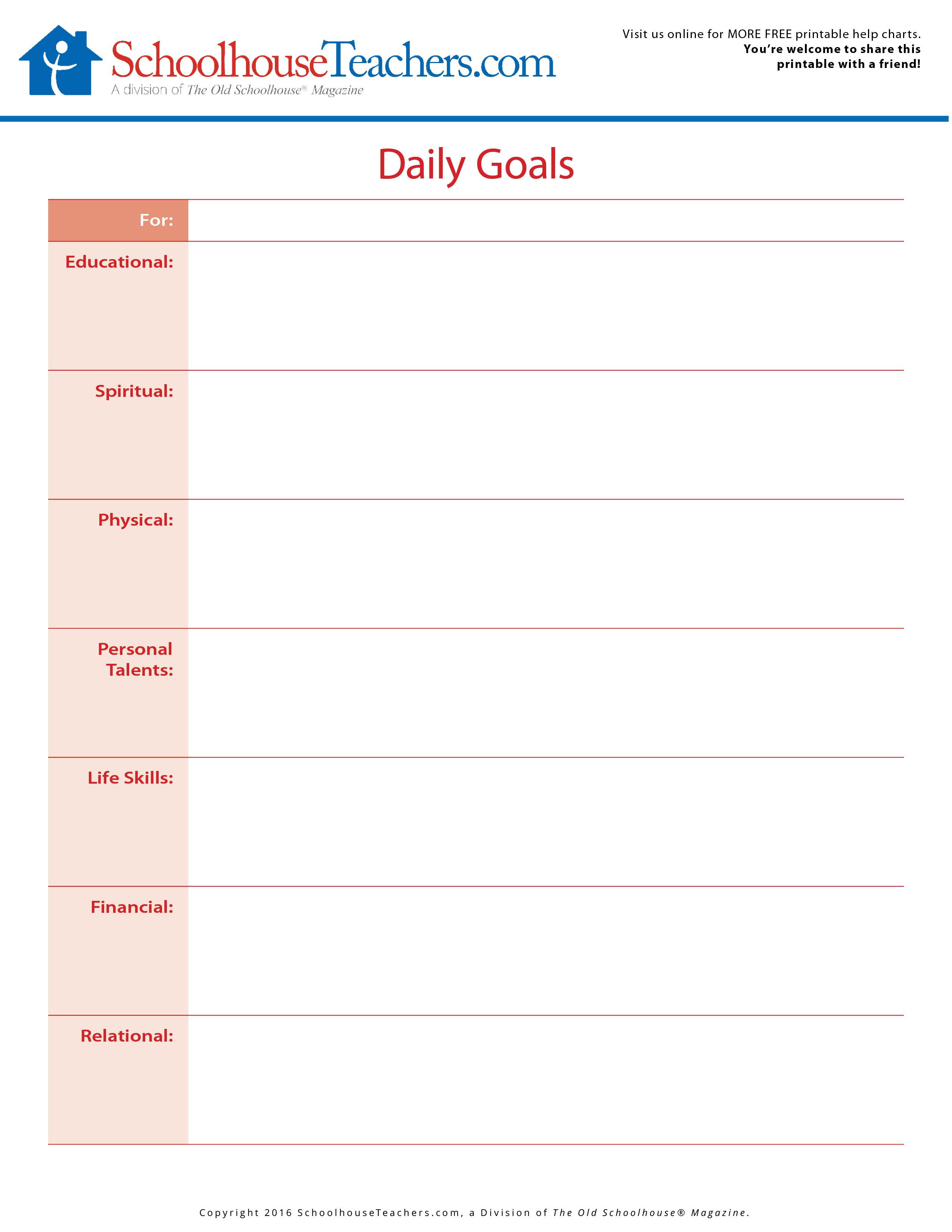 Homeschool Printable Schedules Planners