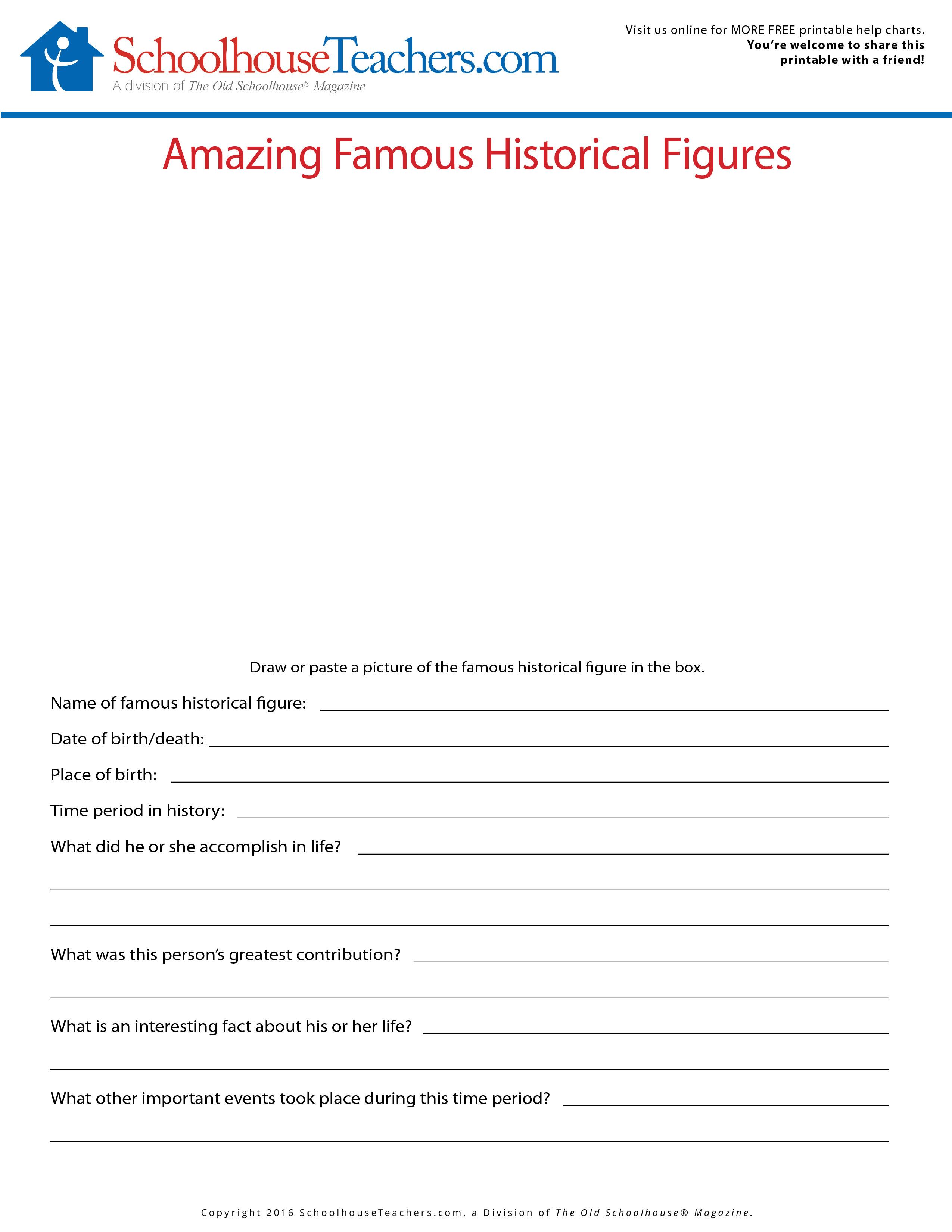 Homeschool Journal Worksheets