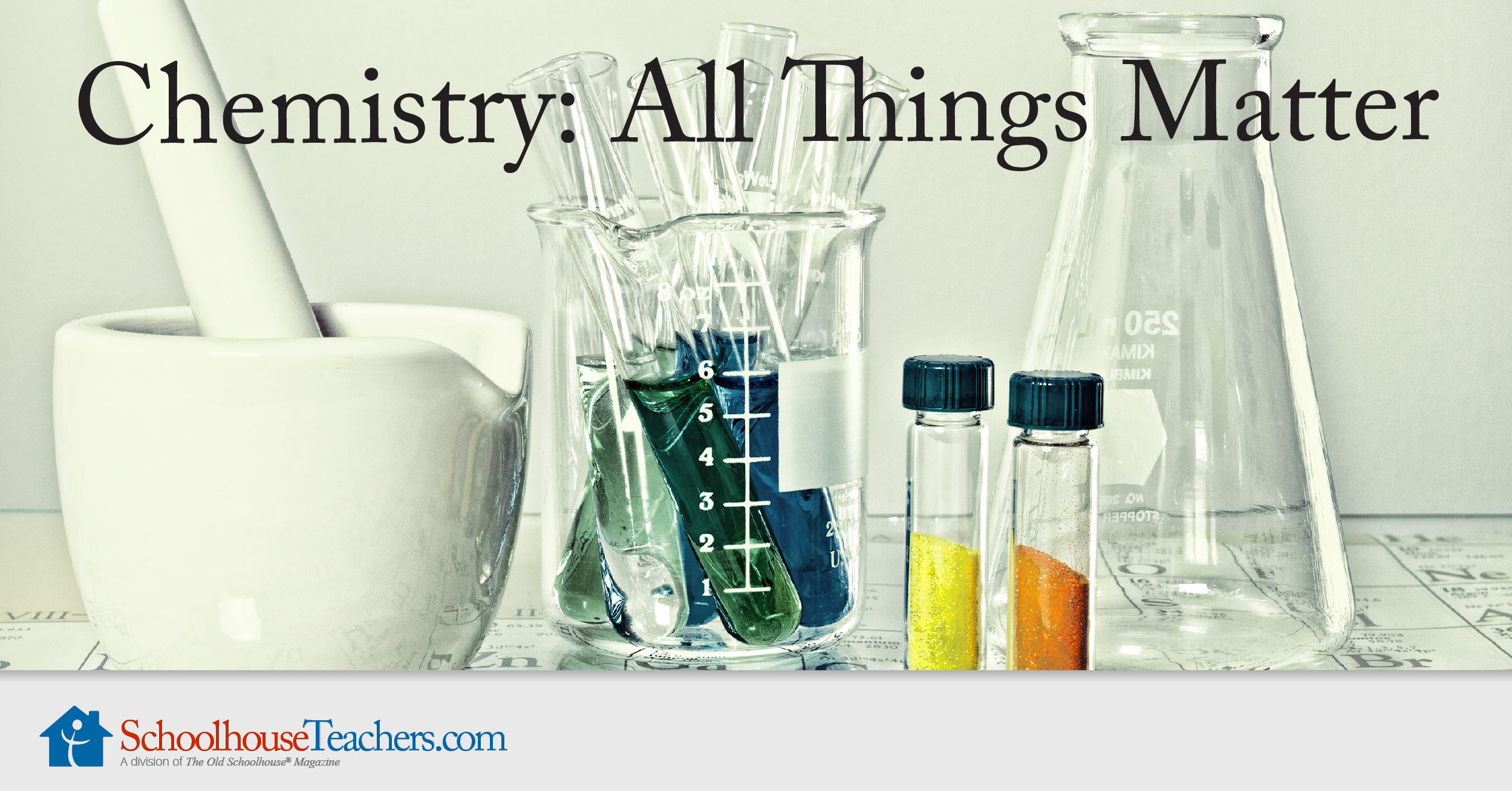 All Things Matter Homeschool Science Course