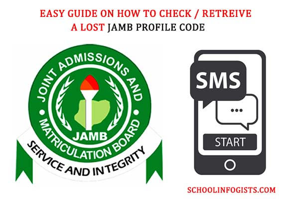 4 steps on how to retrieve jamb profile code