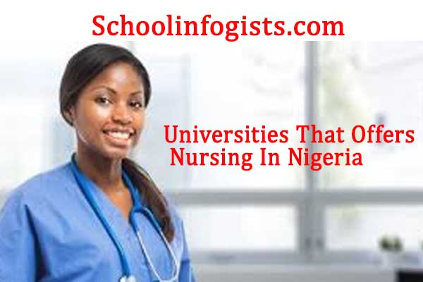 Below Is The Full List Of All Universities That Offers Nursing In Nigeria