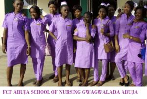 FCT SCHOOL OF NURSING ABUJA
