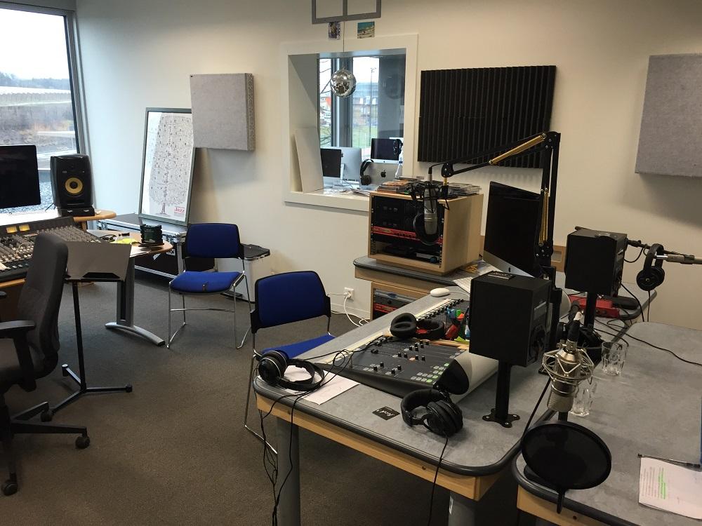 Recording studio at Gems