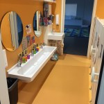 Bathrooms for preschoolers at Gems