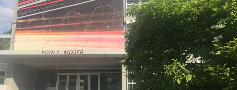 Ecole Moser main building