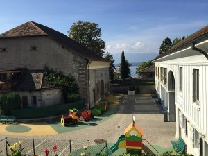 Playground at Notre Dame du Lac