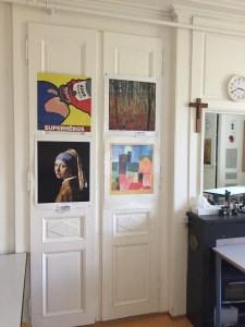 arts class at Notre Dame du Lac