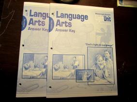 Christian Light Language Arts Answer Keys-new