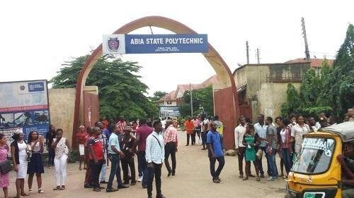courses offered in abia poly and their cut off marks