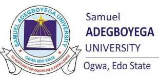 Samuel Adegboyega University (SAU) News