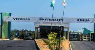 Veritas University Admission List Out - 2018/2019 1
