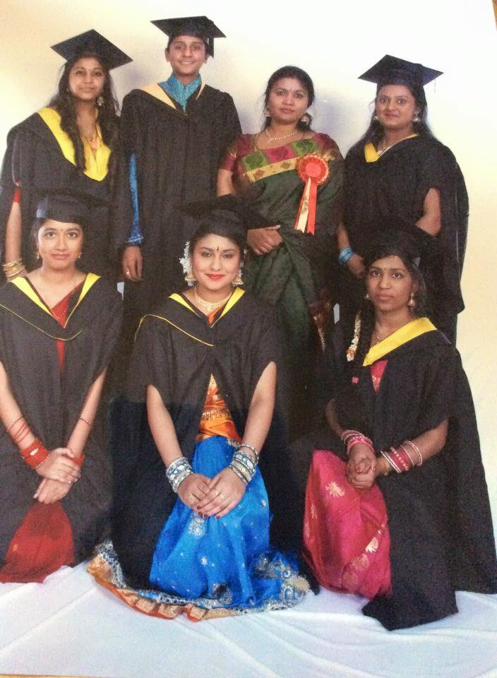 school of bharathakala students