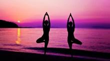 Yoga-Purple-Background