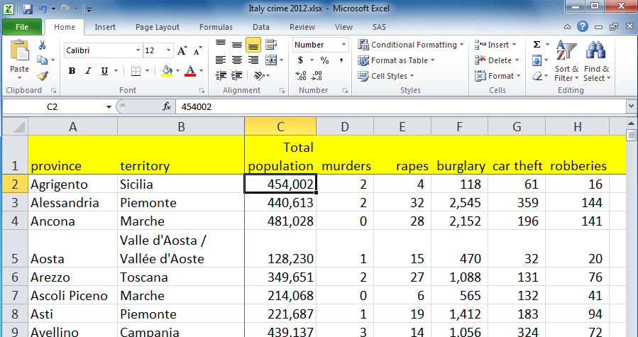 how to sort a list into alphabetical order in word
