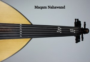 Maqam Nahawand on the Oud - image by the school of oud online