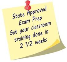 Start exam prep in just 2 1/2 weeks