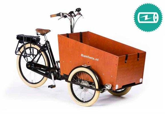 Bakfiets Cruiser Wide Steps Trike