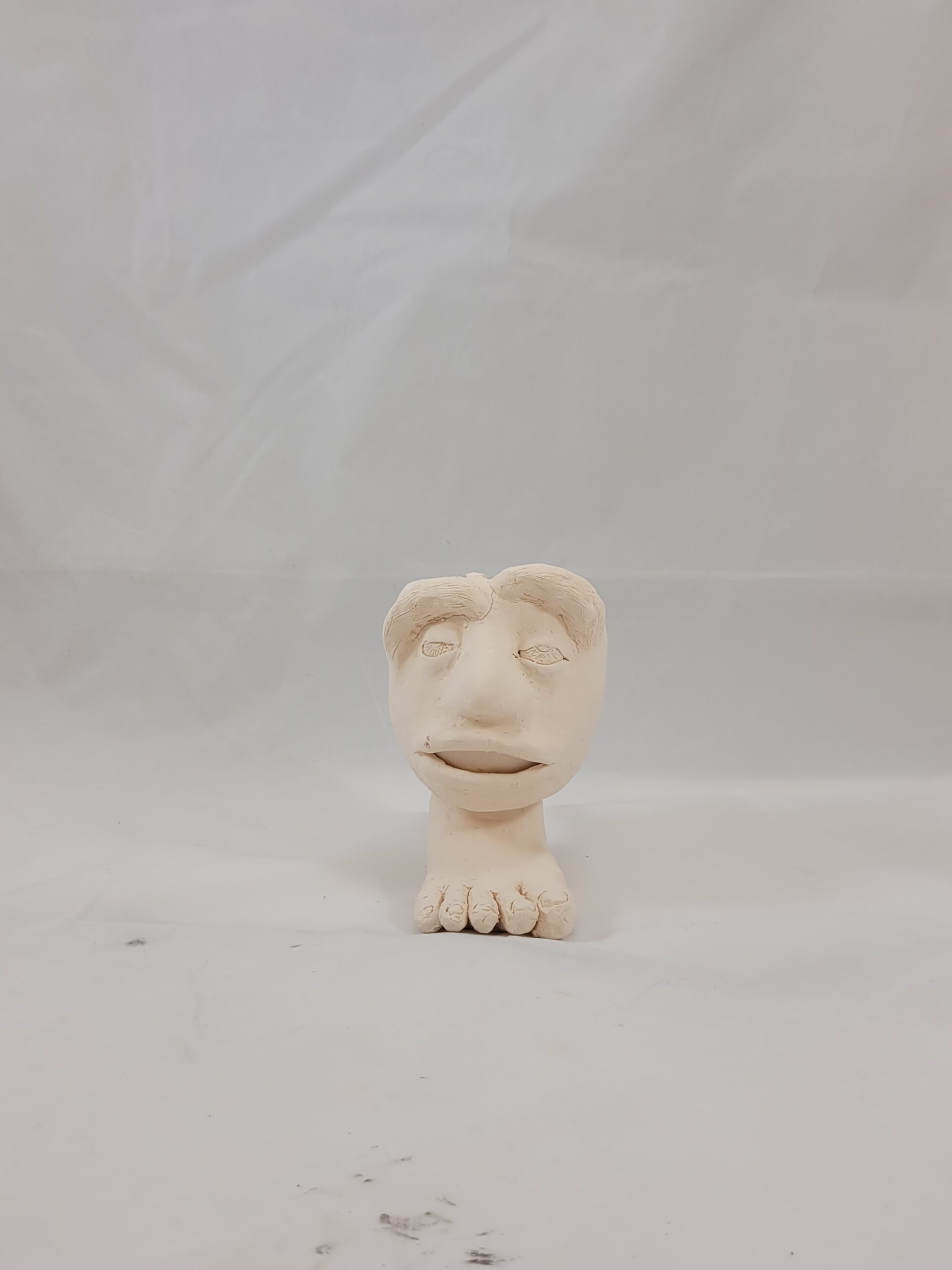 head and foot sculpture