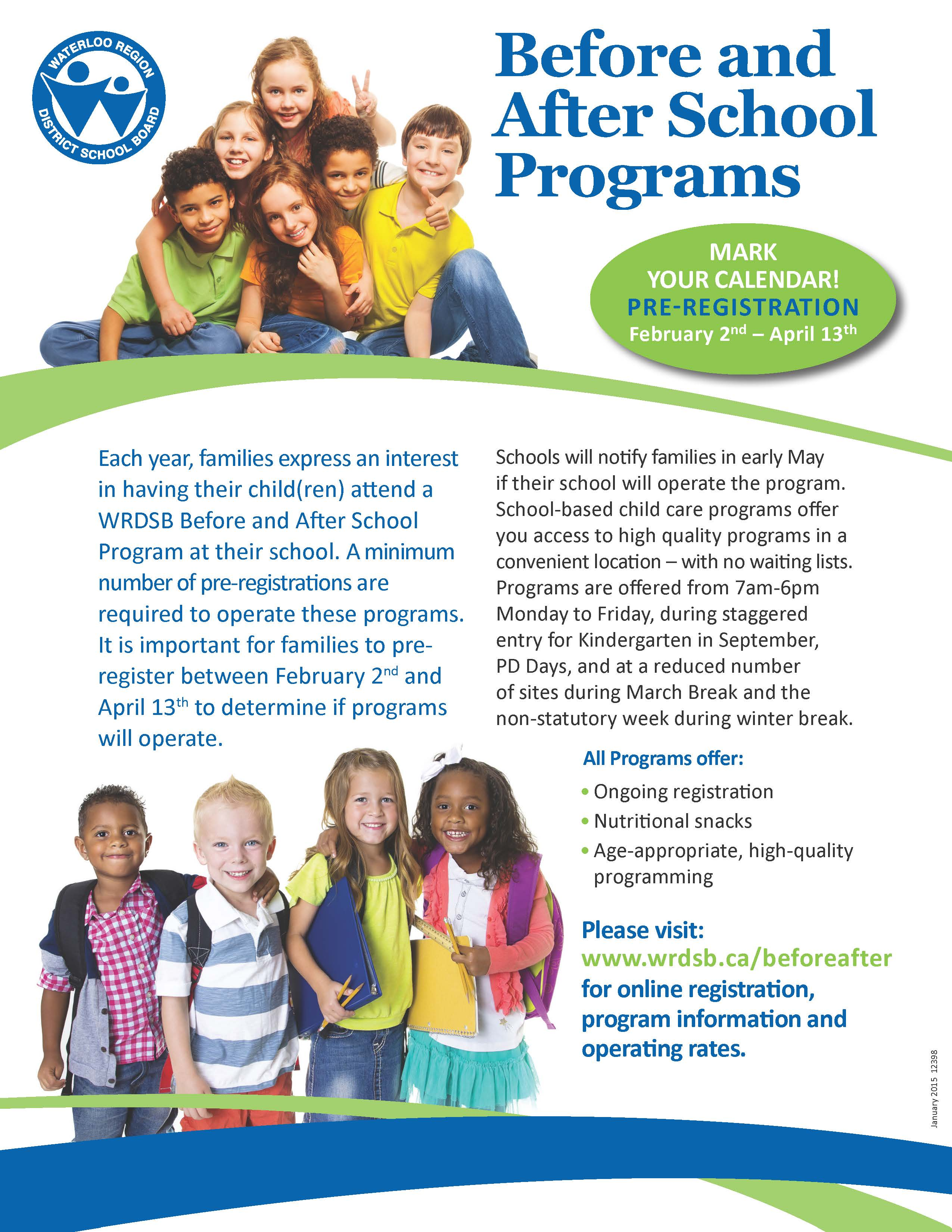 Before Amp After School Programs 16 Lester B Pearson