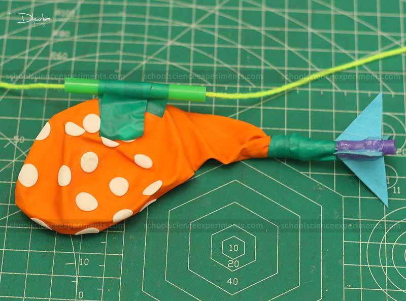Balloon Rocket Science Fair Projects