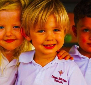 Photograph of children at Dubai British School